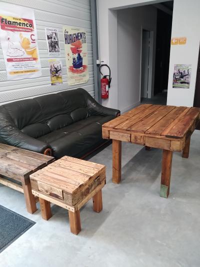 Notre nouveau mobilier