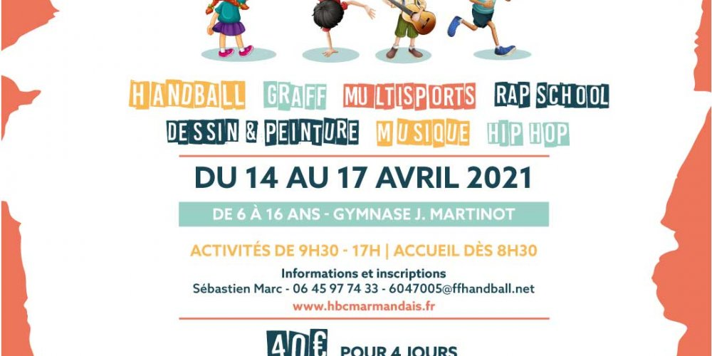 [ANNULÉ] Inscrivez-vous au Marm'Hand Play Sport & Culture !